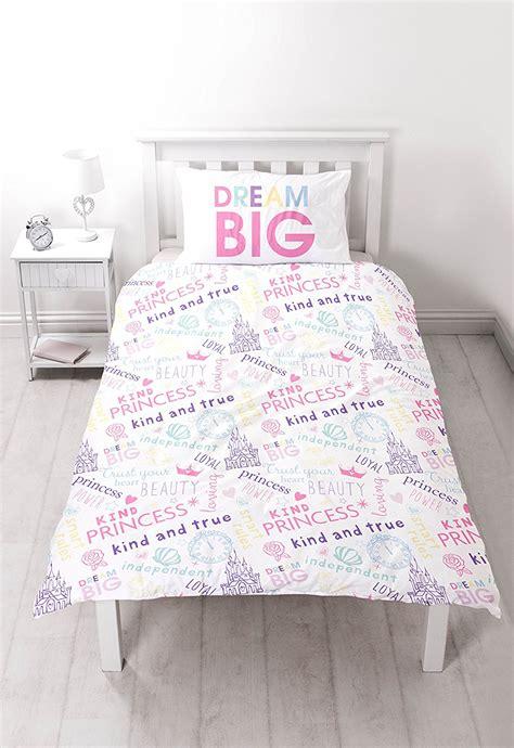 Bettdecke Auf Englisch by Disney Princess Einzeln Bettdecke Bettbezug Set M 196 Dchen