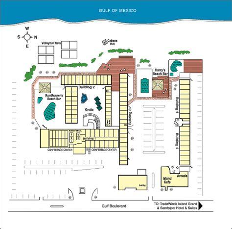 sirata resort map sirata resort hotel conference center photo map