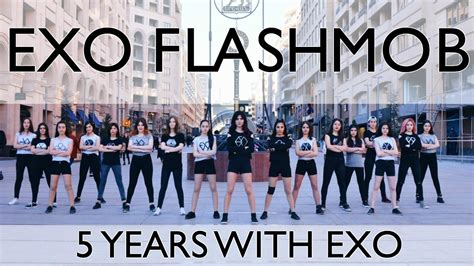 exo anniversary exo 5th anniversary celebration flashmob by exo l
