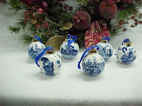 1000 images about christmas ornaments delft blue and