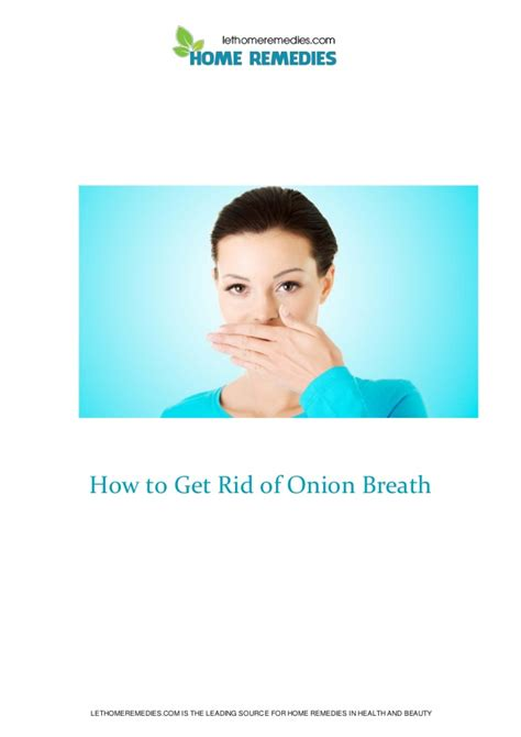 how to get rid of breath