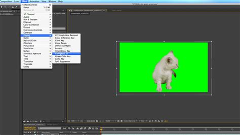 tutorial after effect green screen when aliens attack kittens a green screen after effects