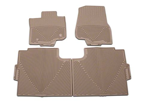 Weathertech Rubber Floor Mats by Weathertech F 150 All Weather Front And Rear Rubber Floor