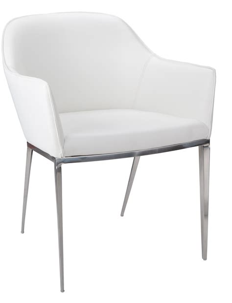 White Armchair Stanis White Armchair From Sunpan 13026 Coleman Furniture