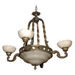 antique chandelier italian alabaster chandelier for sale antiques