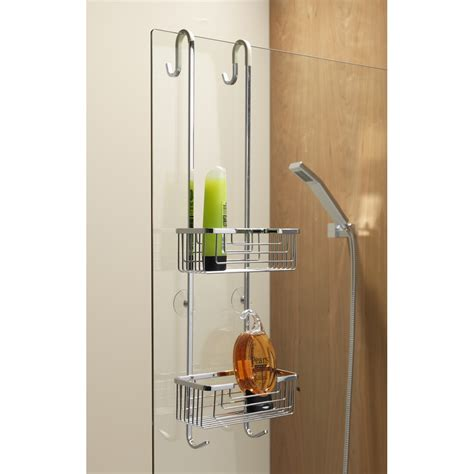 Tension Shower Caddy Rust Proof Adjustable Shower Caddy Bathroom Shower Caddy Rust Proof