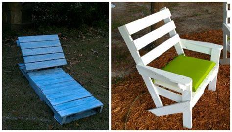 chaise longue palette meuble en palette moderne 233 l 233 gant et 233 cologique