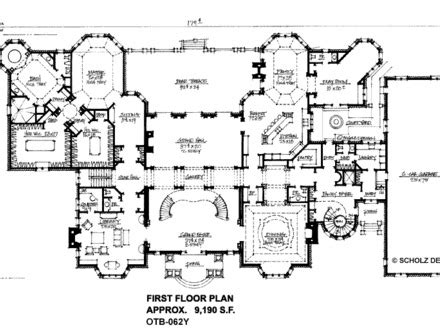 Log Mansions Floor Plans by Mega Mansion Floor Plans Mansion Floor Plans Log Mansion