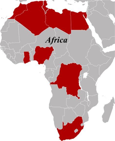africa map modern international atomic energy agency iaea
