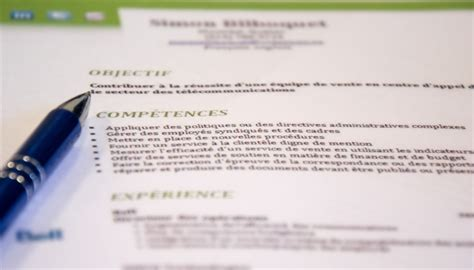 Exemple De Lettre De Motivation Québec resume format lettre de motivation et cv