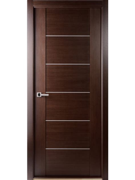 Single Door Interior by Wenge Interior Single Door With
