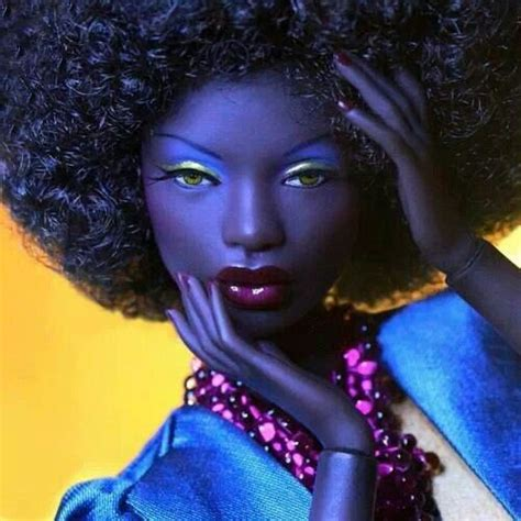 black doll with big afro 17 best images about on black