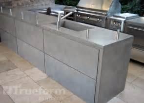 concrete countertop outdoor kitchen this is a concrete