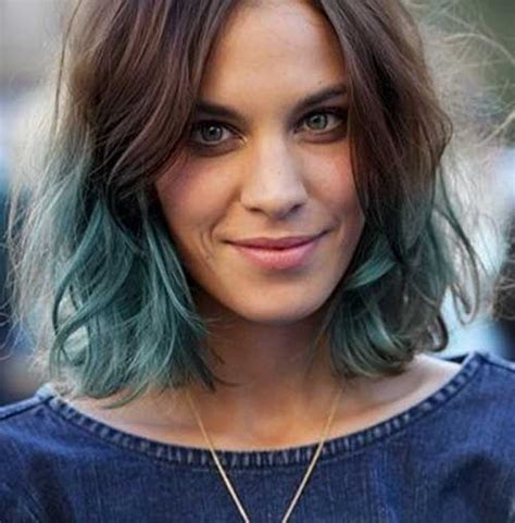 medium hairstyles color 2015 25 nuovi tagli di capelli corti e colorati