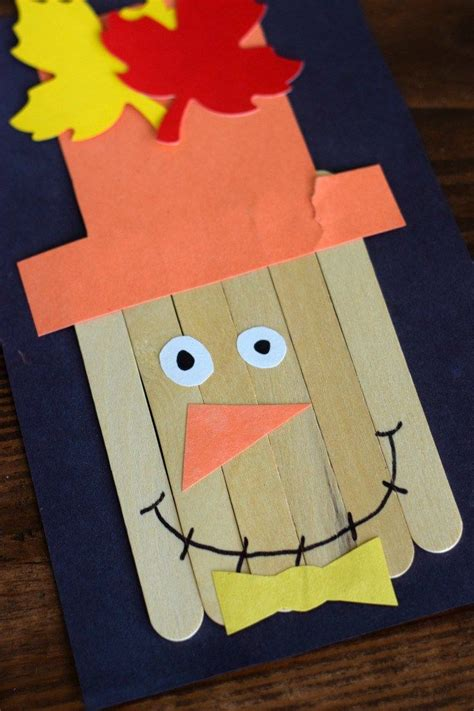scarecrow craft for 1000 ideas about scarecrow crafts on leaf