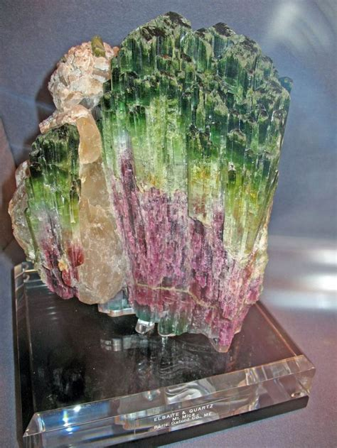 the history of mount mica of maine u s a and its wonderful deposits of matchless tourmalines classic reprint books this large watermelon tourmaline was mined around 2006 at