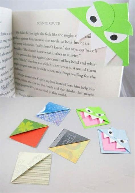Basteln Mit Buntpapier by Lesezeichen Basteln Einfache Bastelideen F 252 R Erwachsene