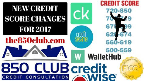 Credit Score Formula Change 850 club credit consultation free credit repair home