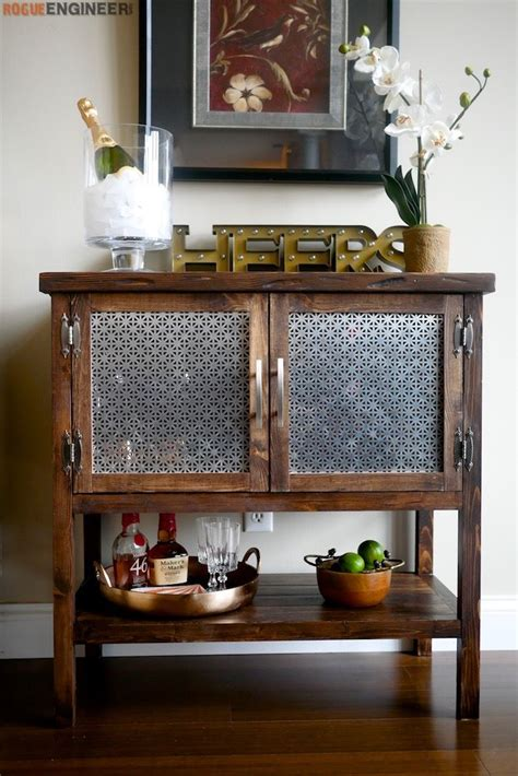 bar cabinet home bar cabinet bar furniture diy bar cart