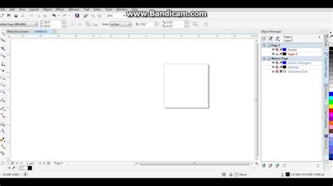 tutorial corel draw x7 tutorial no start di coreldraw x7 youtube