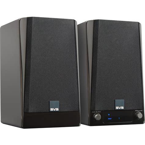 svs prime wireless speakers     amazon alexa voice assistant gloss piano