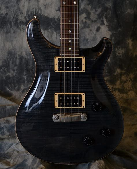 Unfinished Guitar Neck For Prs Replacement Parts 22 Fret Maple Fretboa prs custom 22 slate black ten top 1994