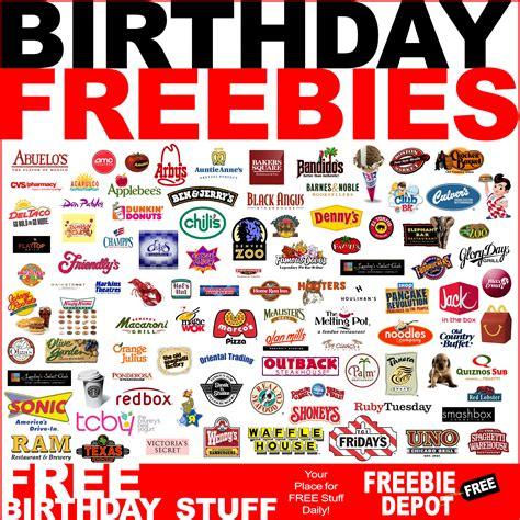 free card stuff birthday freebies free birthday stuff best