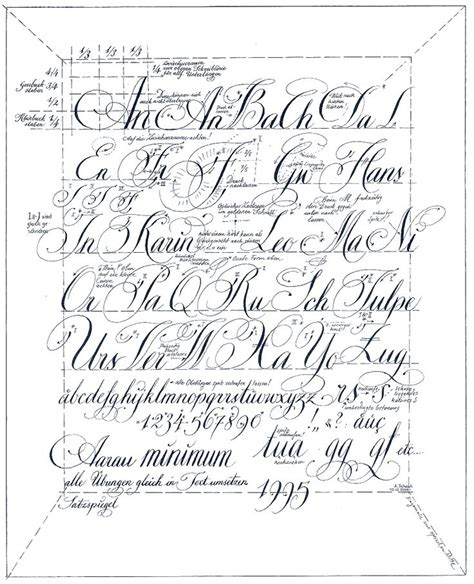 typography worksheet kalligrafie alphabet calligraphy and lettering