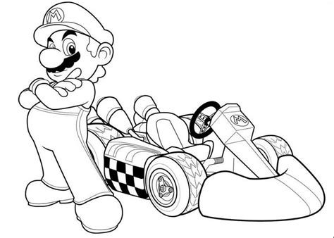 coloring pictures of mario kart characters mario kart coloring pages bestappsforkids com