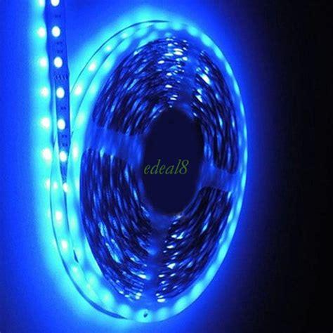 Warm White Blue Rgb Led Strip Lights Smd 5050 3528 5m 300 Blue Led Lights 12v