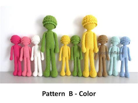 amigurumi human pattern 78 best amigurumi doll body pattern images on pinterest