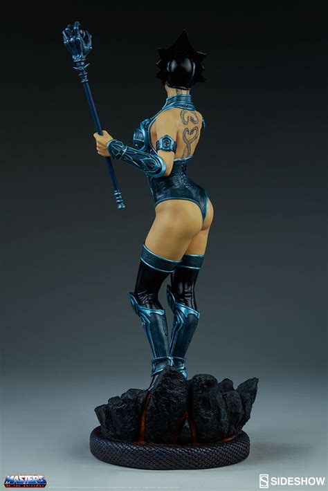 Classix Statue sideshow masters of the universe evil lyn classic statue the toyark news