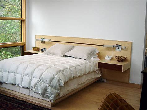 custom headboard platform bed with inlay headboard architectural woodcraft