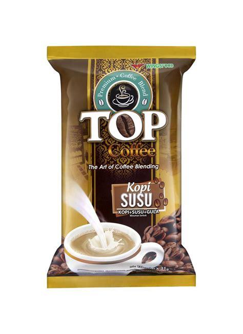 Abc Kopi 10x31g top coffee kopi gula 3 in 1 pck 10x31g klikindomaret