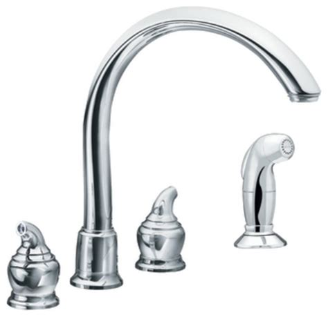 moen traditional bathroom faucet moen 7786 monticello two handle cathedral spout kitchen