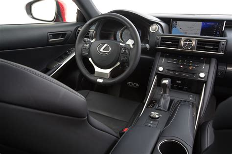 lexus interior 2017 lexus is 200t test review motor trend