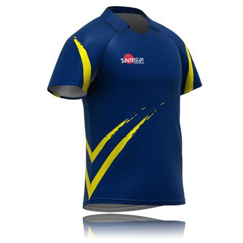 jersey t shirt design sublimated cricket test shirt design 2114 samurai sports