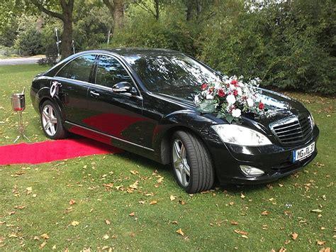 Hochzeits Auto by Hochzeitsauto Mercedes S Klasse Amg Design Inkl Chauffeur