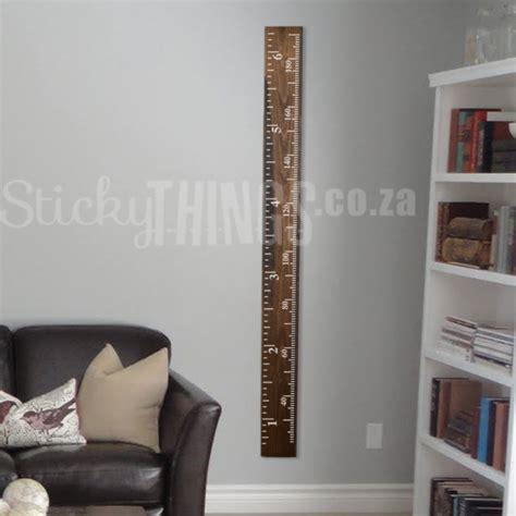 Ruler Wall Sticker by Growth Chart Ruler Sticker Growth Chart Wall Decal