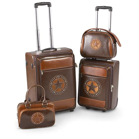 Wbxonia Set 3 In 1 4 pc western luggage set 194088 at sportsman s guide