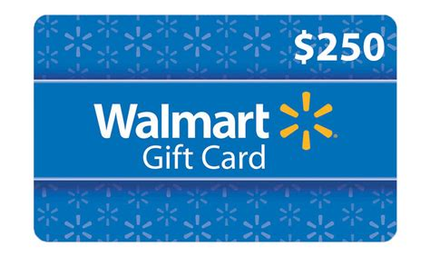 How Much Is A Walmart Gift Card - get a 250 walmart gift card get it free