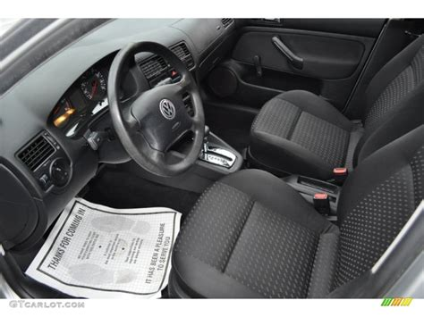 Volkswagen Jetta 2001 Interior by Black Interior 2001 Volkswagen Jetta Gl Sedan Photo 54485345 Gtcarlot