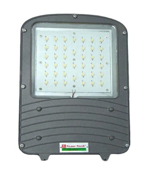 40 watt led street light teamtronix led street light 40 watt buy teamtronix led