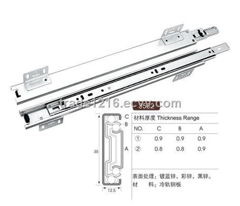 kitchen cabinet rail system kitchen cabinet sliding rail 3502 purchasing souring