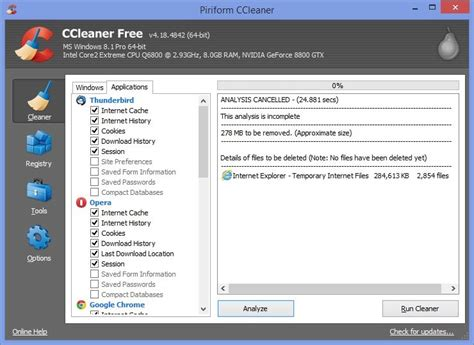 ccleaner x64bit ccleaner 4 18 released with better windows 8 1 64 bit support