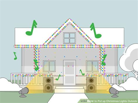 how to set up christmas lights how to put up christmas lights outside 13 steps with
