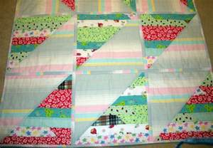 made the jelly roll quilt quilt as you go