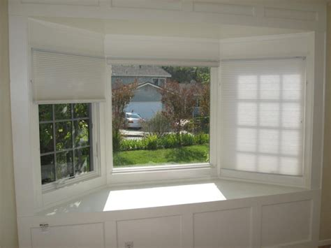 kitchen bay window treatment ideas bay window blinds awesome house