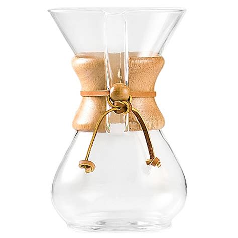 bed bath and beyond chemex chemex 174 6 cup pour over coffee maker www