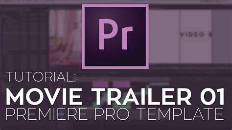rant movie trailer 01 premiere pro template tutorial